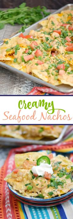 These Creamy Seafood