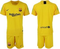 FC Barcelona Football club Nike GK Trainig Kit 2018-19 FÚTBOL SOCCER CALCIO  SHIRT JERSEY 60aa986a5