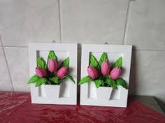 Resultado de imagen para maceta para flores goma eva