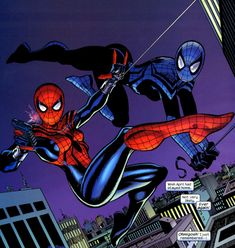 At least Spider-Girl is the adventures of May Parker, Peter and Mary Jane's… Marvel Art, Marvel Dc Comics, Marvel Heroes, Marvel Avengers, Marvel Universe, May Parker, Mr Sinister, Spider Girl, Nerd