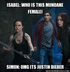 Create your own memes and share with fellow Shadowhunters! The Mortal Instruments City of Bones in theaters August 21. http://www.MortalMemes.com/ Omg lmfao XD