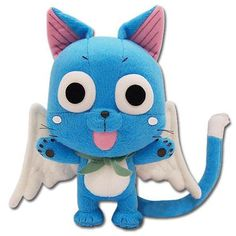 Fairy Tail Plush Fairy Tail Happy 8 Chibi SD Soft Doll Just $11.94! Down From $24.99!