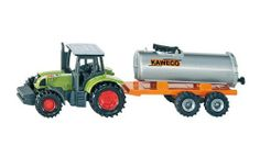 WOW Tractor with Vacuum Tanker by WOW. $3.99. This durable Siku item has moving parts.. Part of the #1 line of die cast vehicles.. The wheels are welded to the axles & tires made of rubber for long lasting play!. Quality die cast and plastic tractor with vacuum tanker ready for an adventure on the farm!. The German engineering quality shows in the details and strength of the product.. From the Manufacturer                Tractor with Vacuum Tanker- Quality die cast and ...