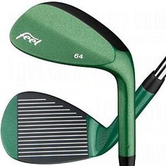 Rh feel dart thrower wedge 64.01 green stl w by Feel Golf. $49.95. These Tour Proven wedges with different finishes were designed by Tour players and deliver short game wizard-like Tour Player performance. Feel Golf wedges have won the US Amateur, PGA and LPGA Majors and tournaments worldwide. FEEL Golf Designer Series Dart Thrower Wedges feature: Loft/Bounce: 52.09 (Yellow) 56.06 (Blue) 60.03 (Red) 64.01 (Green) Steel shaft available in Wedge flex Available in r...