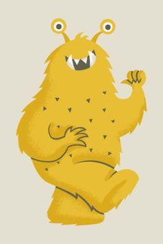 Greg Abbott Monster Illustration