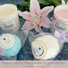 Royal Essence Ring Candles & Bath Bombs | A Bella Adventure | http://www.abellaadventure.com/beauty/royal-essence-ring-candles/