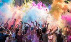 Esplosione di colori ad Ascoli...