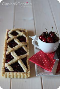 Cherry tart #summer #food