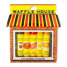 Waffle House Flavored Lip Balm Set of 5 | Claire's