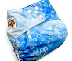 Bubble Butt PUL One Size Pocket Cloth Diaper 12-35+lbs