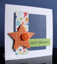 The Card Grotto: Little Boy Star - DTDF