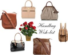 """Handbag Wish-list (part 3)"" by ingram-annelise on Polyvore"