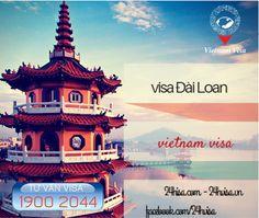 http://24hvisa.com/den-vietnam-visa-xin-visa-cong-tac-dai-loan.html  Nếu bạn có thư mời hoặc được công ty cử sang Đài Loan công tác và đang tìm hiểu bộ hồ sơ xin visa sang đây. Hãy nhanh liên hệ Vietnam Visa để được hỗ trợ tận tình và nhanh chóng sở hữu tấm visa mình mong muốn.  Tổng đài tư vấn Visa: 1900 2044 Miền Nam: (08) 7106 0088 Miền Bắc: (04) 7106 0088 www.24hvisa.com/ www.facebook.com/... www.instagram/... www.slideshare.ne... www.youtube.com/... Email: cskh@24hvisa.vn