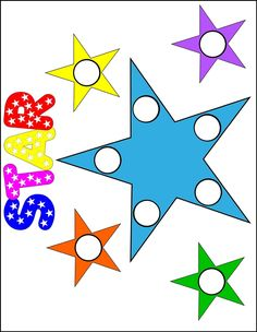 Shape Beginnings Magnet Pages  - Pom pom activities