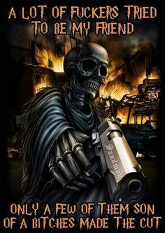 Dare Me Skull - Sierra or Bolt Action Made by Joel Taylor using Alumilite. Grim Reaper Art, Grim Reaper Tattoo, Skull Pictures, Cool Pictures, Dark Fantasy Art, Dark Art, Skull Wallpaper Iphone, Image Moto, Design Tattoos