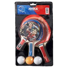 Joola Triple Racket Set, Table Tennis Set