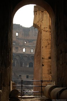 A simple look.. A simple glimpse reveals a grand history Colosseum, Rome ©photo by jadoretotravel