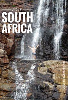 Süd Afrika, South Africa, Waterfall Trail, Otter Trail, Wanderung, wandern, hiking, Wasserfall, Waterfall, Tsitsikamma National Park