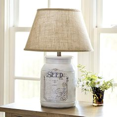 Seed Co. Table Lamp by Ballard Designs  I  ballarddesigns.com