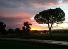 Sunrise over Wildhorse Golf Club. Photo by Ashley Mahaney, Wildhorse Golf Club's Special Event and Banquet Coordinator. Call today to book your wedding, special event or banquet: (702) 434-9000