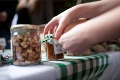 Smoked Apple Chutney & Wood Fired Honey Roasted Peanuts from @Chef Fox. #local #woodfired #peanuts