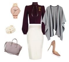 """""""Untitled #32"""" by ashlijoy on Polyvore featuring River Island, Givenchy, Chanel, Forever 21, Nixon, Christian Louboutin, women's clothing, women's fashion, women and female"""
