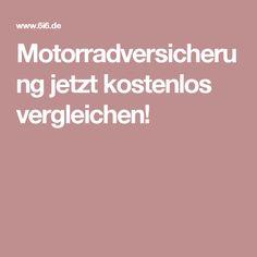 Motorradversicherung jetzt kostenlos vergleichen!