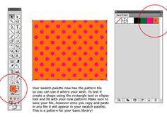 Illustrator Tutorial Polka Dot Pattern