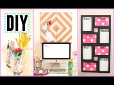 DIY Back to School Room Decor + Organization! - YouTube