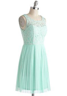 Someone from Your Pastel Dress   Mod Retro Vintage Dresses   ModCloth.com