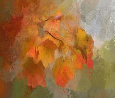 Free Image on Pixabay - Painting, Leaves, Fall, Nature Autumn Nature, Autumn Leaves, Autumn Fall, Pictures Images, Free Images, Framed Prints, Canvas Prints, Art Prints, Thanksgiving Pictures