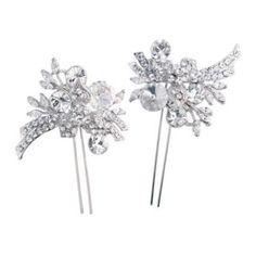 Enchanting Sparkle Hair Pins - Hair Accessories - Glitzy Secrets