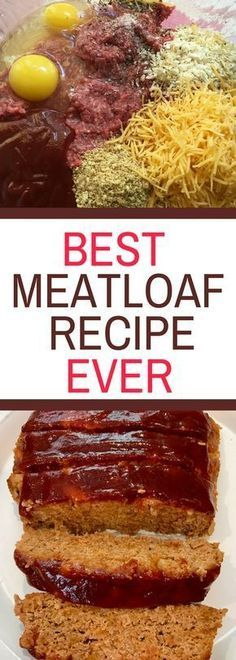 Most Delicious Meatloaf Recipe Ever Most Delicious Meatloaf Recipe Ever - Yes, it is that good! Delicious Meatloaf Recipe Ever Most Delicious Meatloaf Recipe Ever - Yes, it is that good!Most Delicious Meatloaf Recipe Ever - Yes, it is that good! Beef Steak Recipes, Beef Recipes For Dinner, Ground Beef Recipes, Meat Recipes, Crockpot Recipes, Cooking Recipes, Beef Meals, Cooking Tips, Amish Recipes