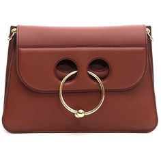 Medium Pierce Bag (54.490 RUB) ❤ liked on Polyvore featuring bags, handbags, shoulder bags, tan, womenbagsshoulder bags, circle bag, tan bag, tan handbags, circle handbags and brown purse