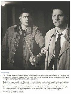 Dean Winchester/Castiel/DESTIEL