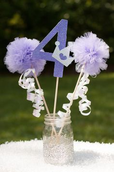 Princess Party Centerpiece Table Decoration You Choose Color Sofia the First on Etsy, $14.50
