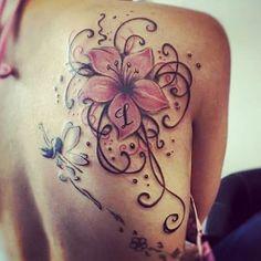 #immortality #livingbeauty #alwaysinmyheart #alwaysinmyhead #tattoo #fairy #flower #l #perfect #tattooart #bodyart #pinktattoo #colortattoo #lifestyletatto #systemtattoo