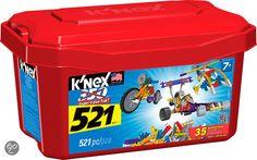 K'NEX Building Sets 521 value tub