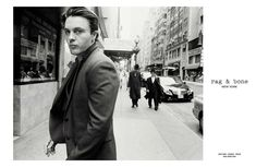 Michael Pitt by Glen Luchford for Rag & Bone Fall/Winter 2013/2014 Campaign | The Fashionography