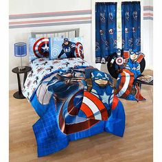 <strong>Captain America: The Winter Soldier Bedding from Walmart</strong>