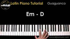 DRJASSMUSIC Latin Piano Tutorial - Guaguanco (English)