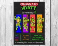 TMNT NINJA TURTLE Teenage Mutant Ninja Turtles by BBNGRAFX on Etsy