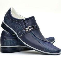 c55a24f0047 Sapato Social Masculino Casual Bico Alongado Lançamento - R  89