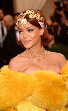 Rihanna from Best Accessories at the 2015 Met Gala   E! Online