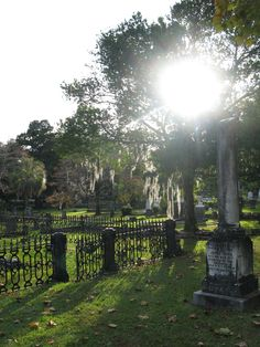 Old Cemetery in Tallahassee, Fl