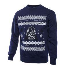 Star Wars: Darth Vader Christmas Unisex Sweater/Jumper - merchoid