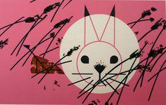 "Charley Harper's ""Honey Bunny"""