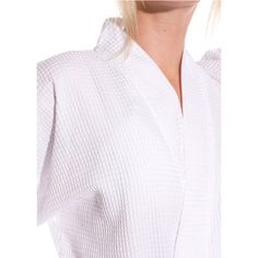 Waffle robe is sure to become a sleepwear favorite for women. 5fcc40b09