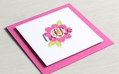 VIDEO | Popped Up Die Cut Inlay