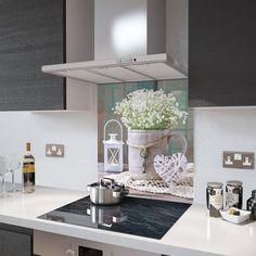 Printed Glass Splashbacks, Kitchen Cooker, Radiator Cover, Cooker Hoods, Safety Glass, Working Area, White Wine, Lanterns, Digital Prints